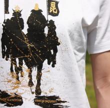 $日本の武の美、正統派戦国ブランドのパイオニア【もののふ】-謙信・直江Tシャツ